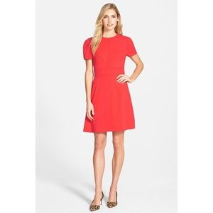 Eliza J Seam Detail Crepe A line dress